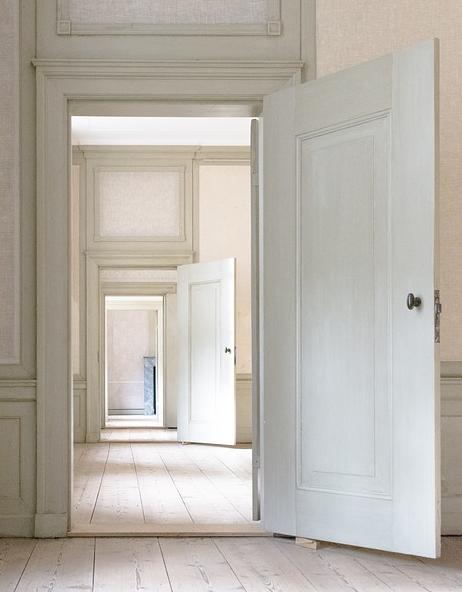 porte blanche